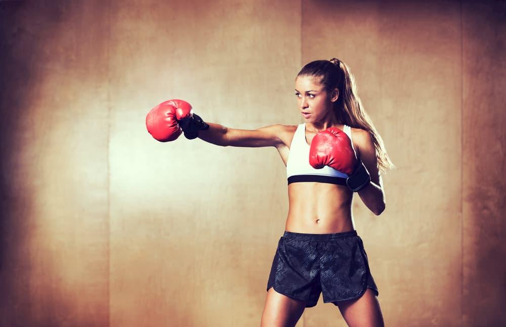 キックボクシングで痩せる汗をかく!