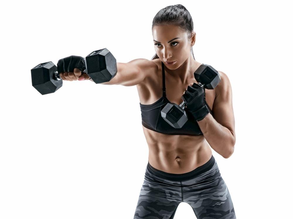 ボクシングエクササイズで鍛えられる身体のパーツ
