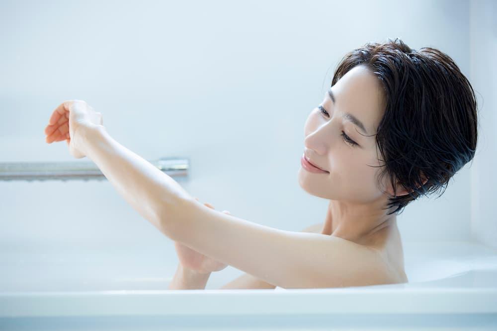 汗をたっぷりかけるお風呂の入り方