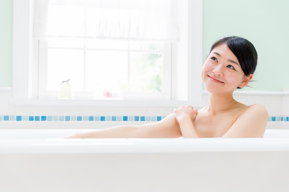 お風呂で汗をかくための下準備