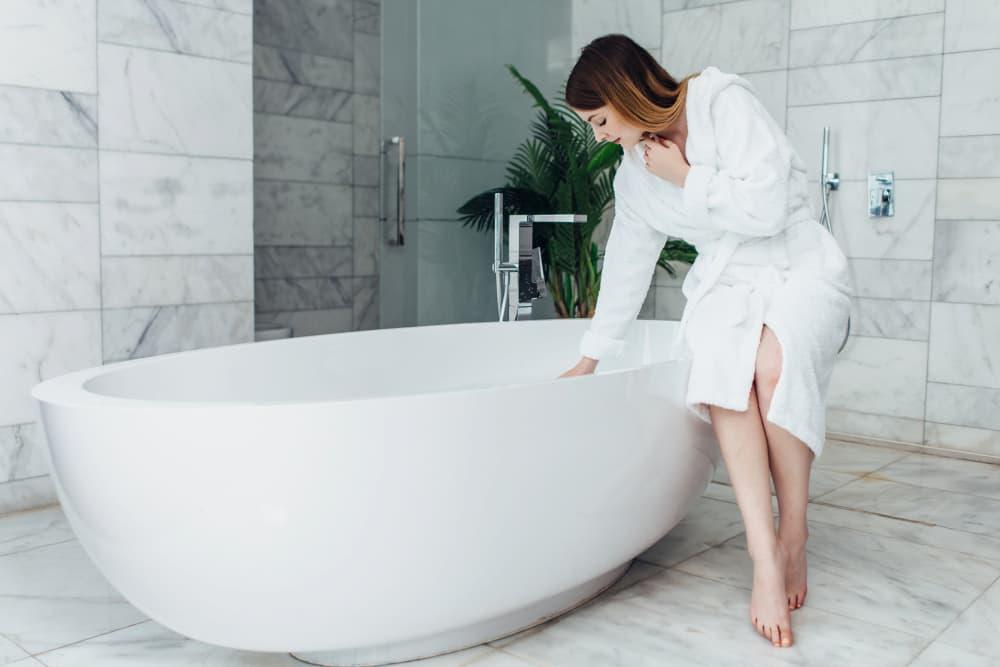 半身浴は入るタイミングに注意