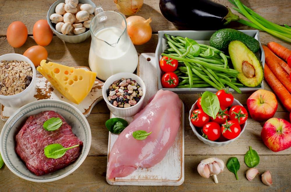 栄養バランスの考え方