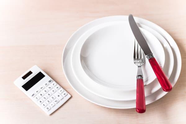 食事のカロリー制限をする